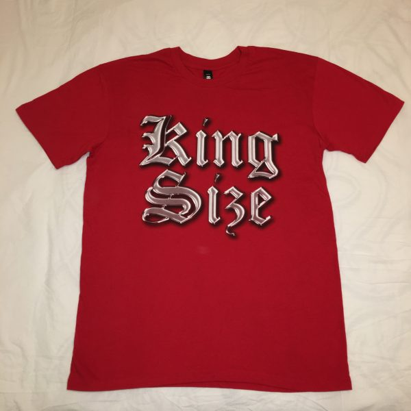 King Size Tee Red