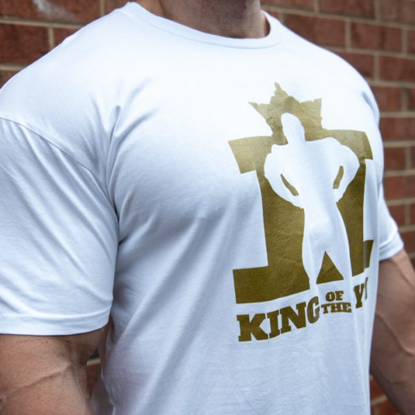 KOTG Tee White w Gold RS
