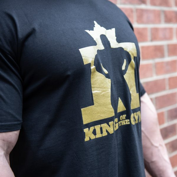 KOTG Tee Black w Gold RS