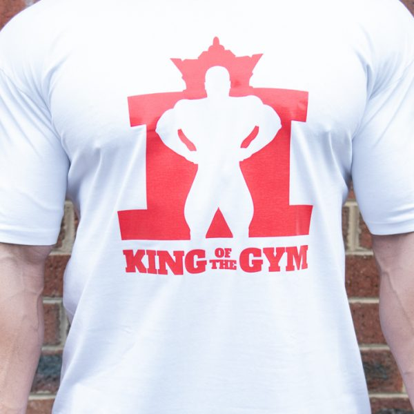 KOTG Tee White w Red FC