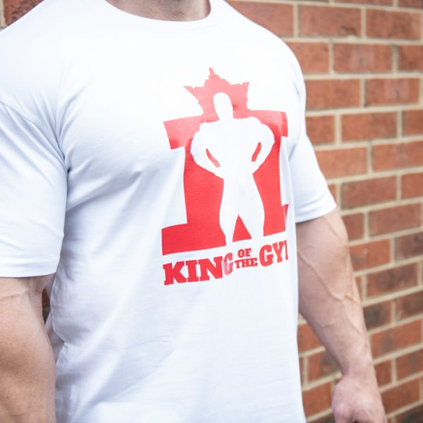 KOTG Tee White w Red RS