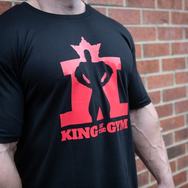 KOTG Tee Black w Red RS